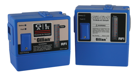 The Most Recognized Air Sampling Pump on the Market GilAir-3 & GilAir-5