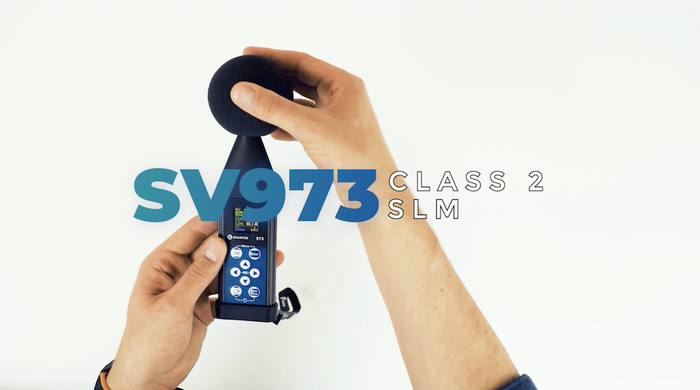 SV973 Sound Level Meter is Now Available