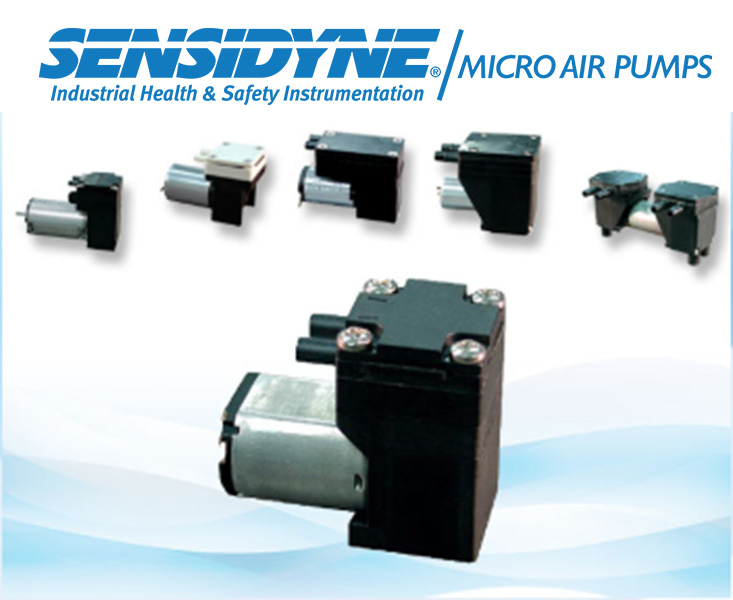 Sensidyne Micro Air Pumps. Integral part of Macro Solutions.
