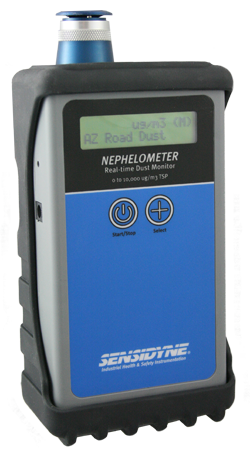 Sensidyne Nephelometer - Real-time Dust Monitor for Measuring Total Suspended Particulate