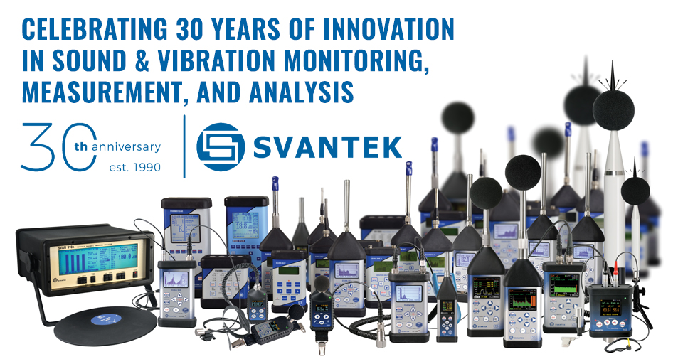 Sensidyne Global Leader Svantek Celebrates 30 Years