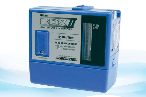 Asbestos Air Monitoring Pumps : Gilian bdx ii personal air sampling pump  cc