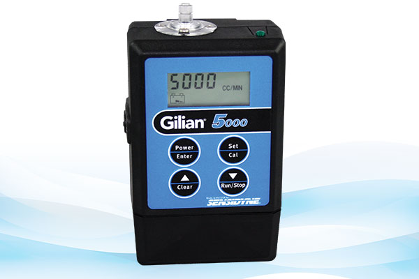Gilian 5000 Personal Air Sampling Pump (20 - 5,000 cc/min)