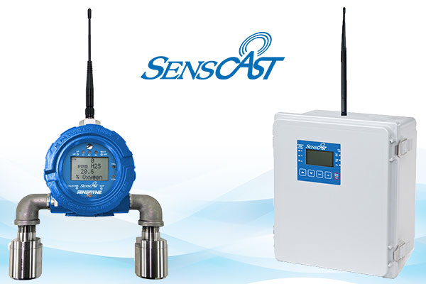 SensCast Wireless Gas Detection