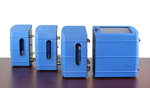 Gilibrator 3 Primary Calibrator Air Flow Modules
