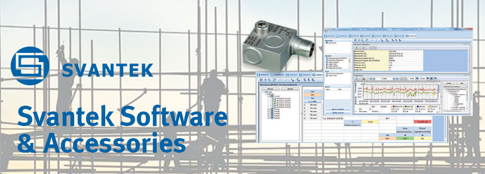 Software & Accessories for sound and vibration